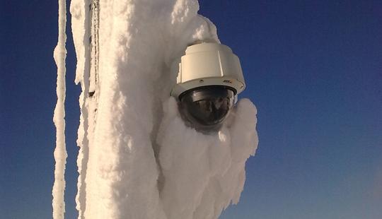Caméra spécialement conçue pour résister aux basses températures